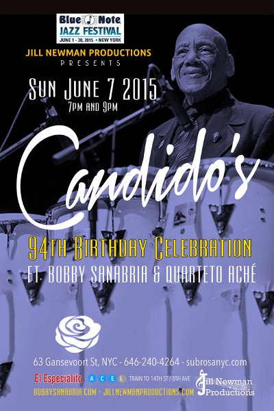 Candido 94th Birthday Celebration